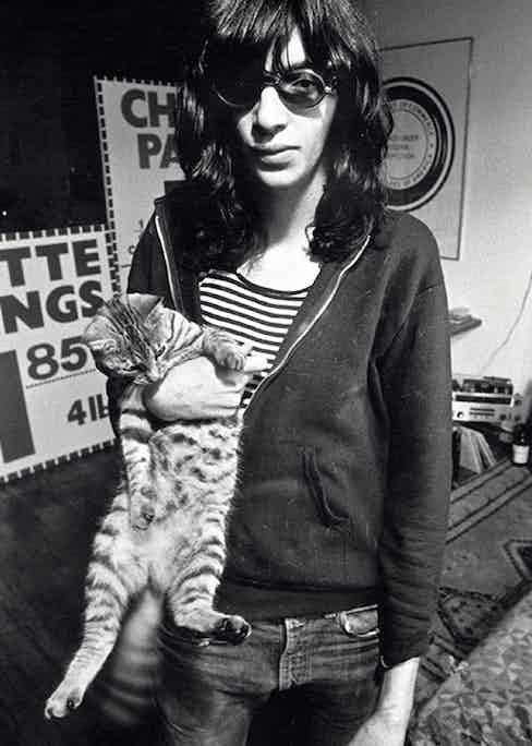 Joey Ramone, 1978.