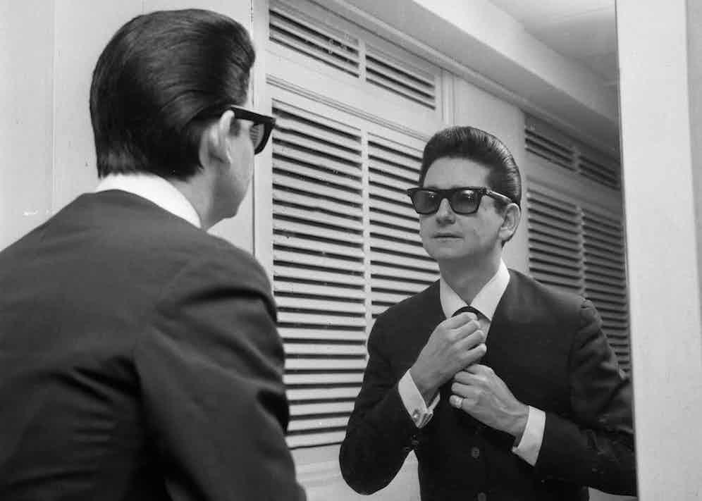 Roy Orbison, 1964. Photo by ITV/REX/Shutterstock.