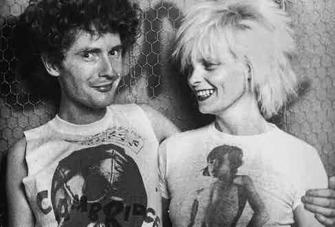 Malcolm McLaren and Vivienne Westwood in 1976.