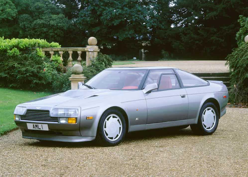 Aston Martin V8 Zagato, 1987. Photo by National Motor Museum/REX/Shutterstock.