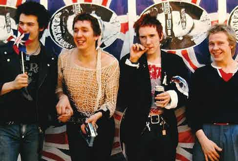 The Sex Pistols circa 1976.