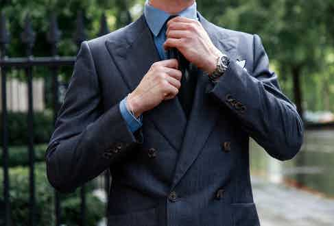 A jacket from Chester Barrie's ready-to-wear line.