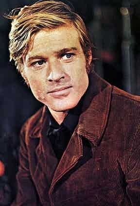 Robert Redford playing a Sheriff in Tell Them Willie Boy Is Here, 1969.