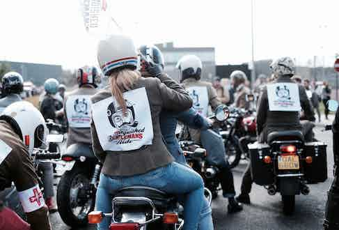 The DGR in London last year. Photograph by Justin Hast.