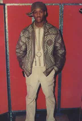 The renowned Harlem kingpin Alpo Martinez was a huge supporter of Dapper Dan's designs.