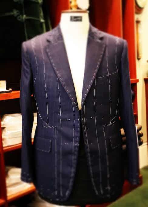 Gary Aspden's suit.