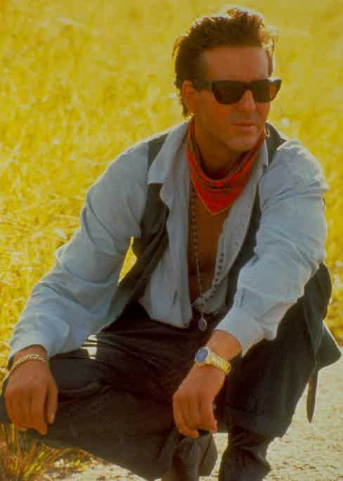 As the wealthy James Wheeler in the film Wild Orchid, 1990. Photo by Moviestore/REX/Shutterstock.