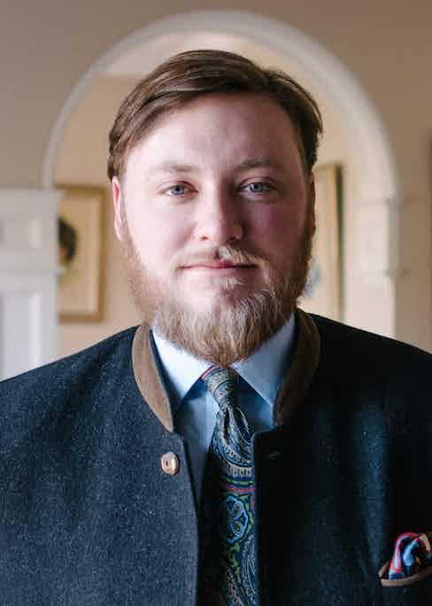 Augustus Hare founder Sam Carlisle.