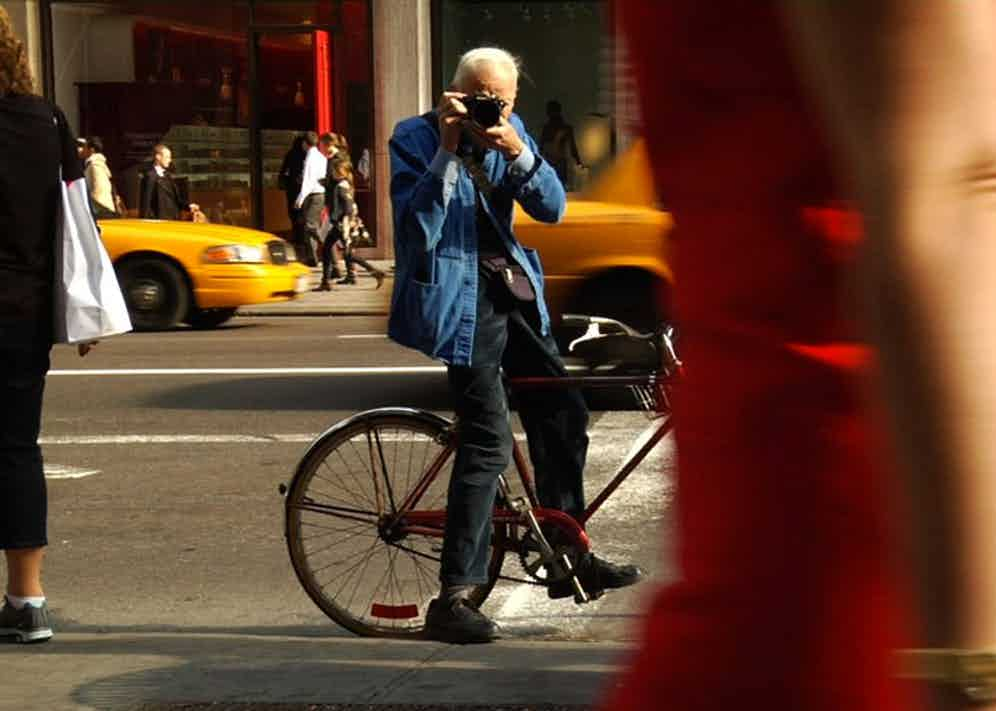 From the documentary Bill Cunningham, New York.