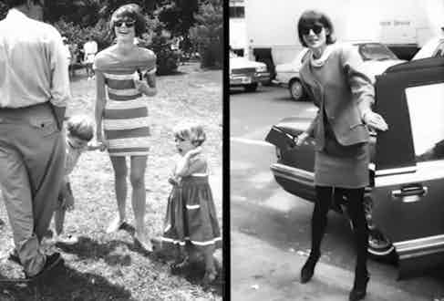 Bill Cunningham's documentation of US Vogue editor-in-chief Anna Wintour.