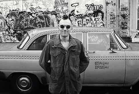 Robert DeNiro in Taxi Driver, 1976. Image by © Steve Schapiro/Corbis.