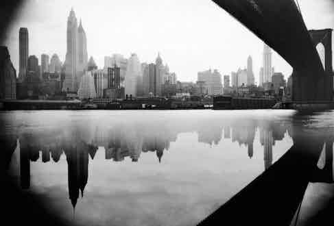 East River, circa 1930s.