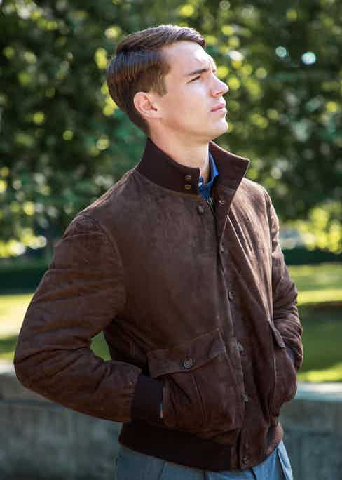 Each jacket has buttons and a zip up the front for added convenience. Photo by James Munro.