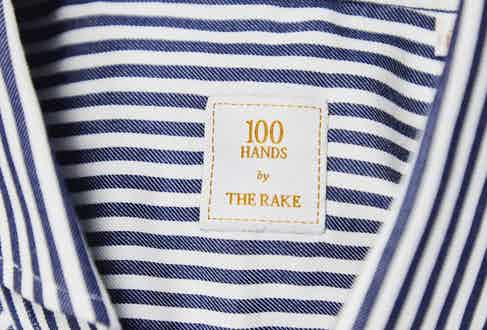 100Hands has created a collection of shirts exclusively for The Rake. Photograph by James Munro.