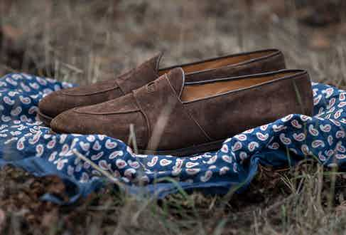 Although best known for their boots, Barbanera's lightweight loafers are not to be overlooked.