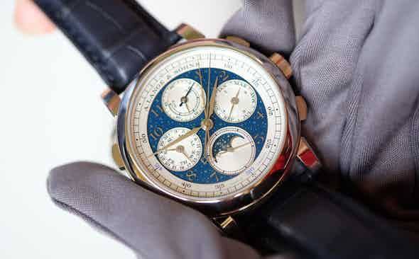 A. Lange & Söhne Lead the Field in Florence