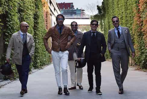 Mo Coppoletta, Francis Pourcher, Ahmed Rahman, Wei Koh and Alexander Kraft. Photograph by Stéphane Buttice.