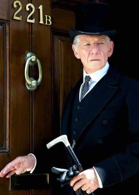 Ian McKellen in 2015's film Mr Holmes.