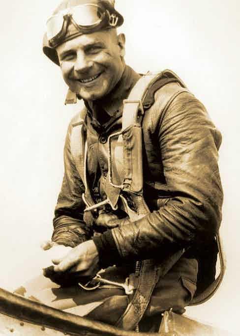 American aviation pioneer Jimmy Doolittle.