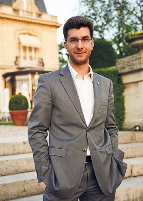Alexandre Cattier, the Chairman and CEO of Champagne Cattier.