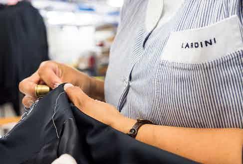 Lardini employs 350 artisans and staff in its Filottrana plant.