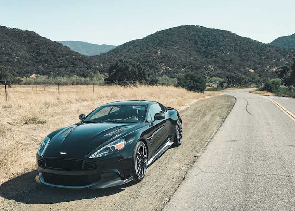 The supercar achieves 0-62mph (0-100km/h) in just 3.5 seconds. Photograph by Max Earey.