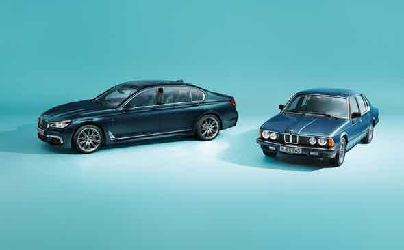 Fast Forward: 40 Years of the BMW 7 Series