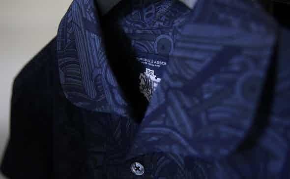 Crafting Turnbull & Asser and Mo Coppoletta's Printed Denim Shirts
