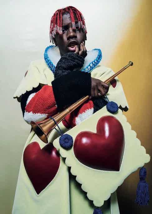 Lil Yachty as The Queen's Guard. Photograph by Tim Walker.