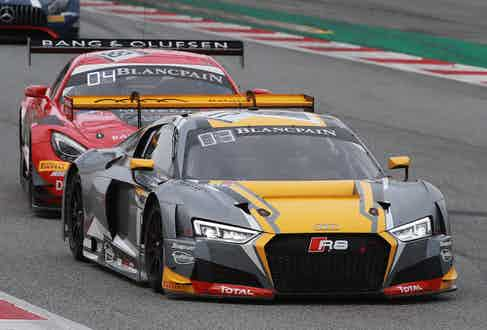 The final race of the 2017 Blancpain GT Series in Barcelona.