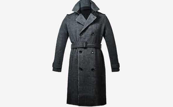 Invest: Falke Knitted Merino Trench Coat