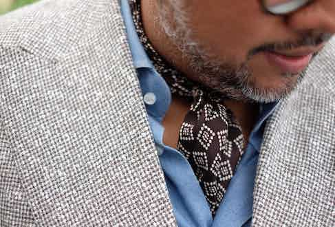 Mr Rahman's excellent taste in vintage watches is matched by his elegant style.