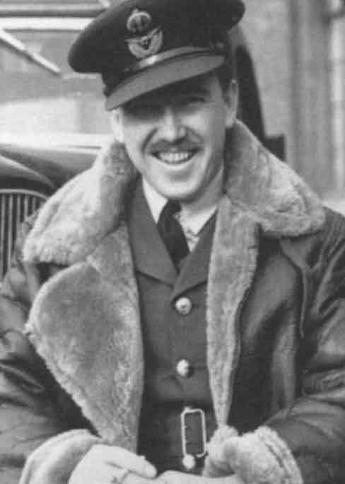 A WW2 RAF pilot in his Irvin flight jacket, circa 1938.