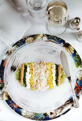 The dressed crab is not to be missed, one of the all time favourite dishes.