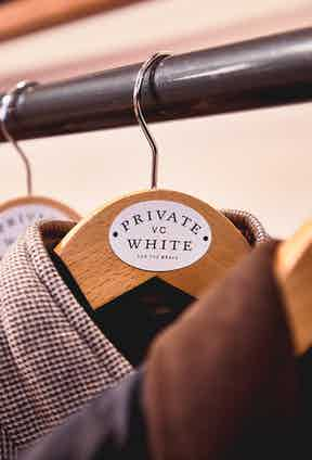 Private White V.C.'s slogan 'For the Brave' is inspired by the brand's namesake, soldier Jack White, who was awarded a Victoria Cross for his bravery in the war.