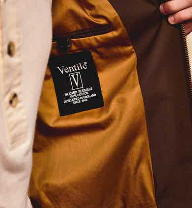 Treatments such as Ventile put Private White V.C. at the forefront of the movement towards technical fabrics.
