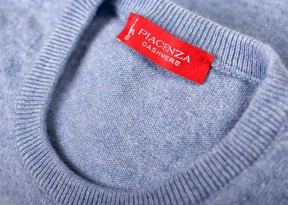 Piacenza Cashmere's knitwear is some of the softest around.