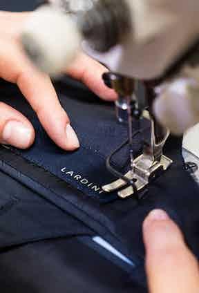Lardini's meticulous craft processes.