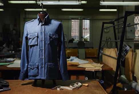 Marol is among some of the European brands that one doesn't usually find on Savile Row.