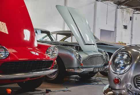 A 1963 Aston Martin DB5.