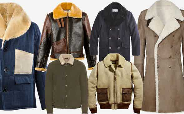 10 of This Winter's Best Shearling Jackets