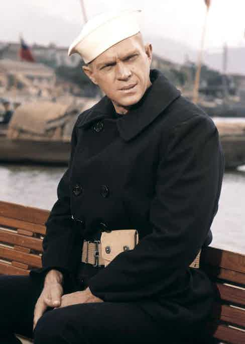 Steve McQueen in The Sand Pebbles, 1966.