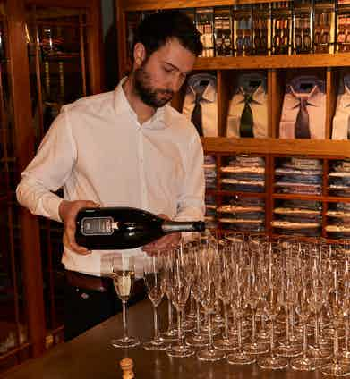 Ombra Di Pantera prosecco ensured guests didn't go thirsty.