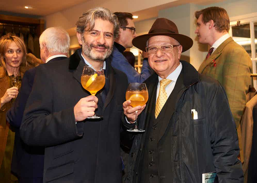 Davidoff of London's Eddie and Edward Sahakian.