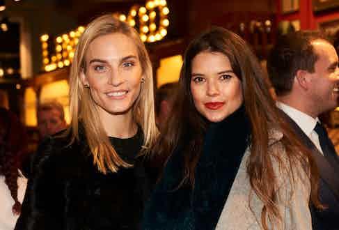 Véronique Lazoore and Sarah-Ann Macklin.