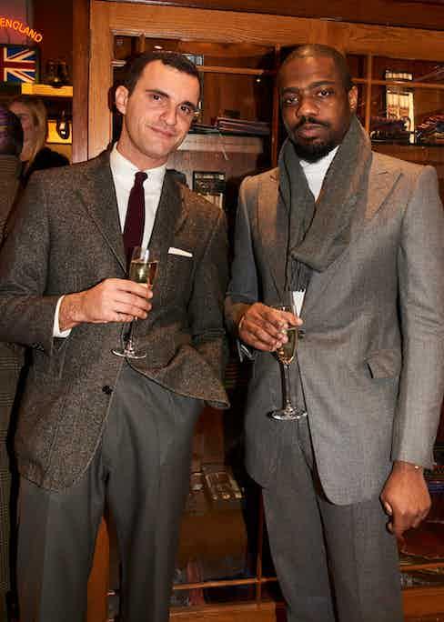Tailors James Turner and Michael Browne.