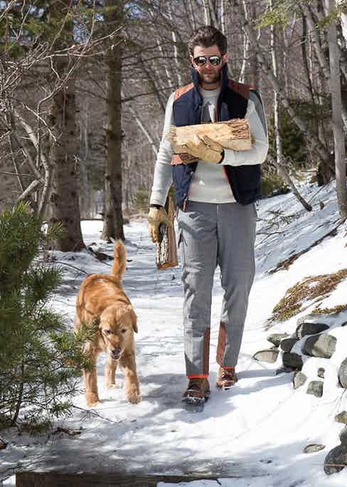Alps & Meters has created garments that can be easily paired with each other.