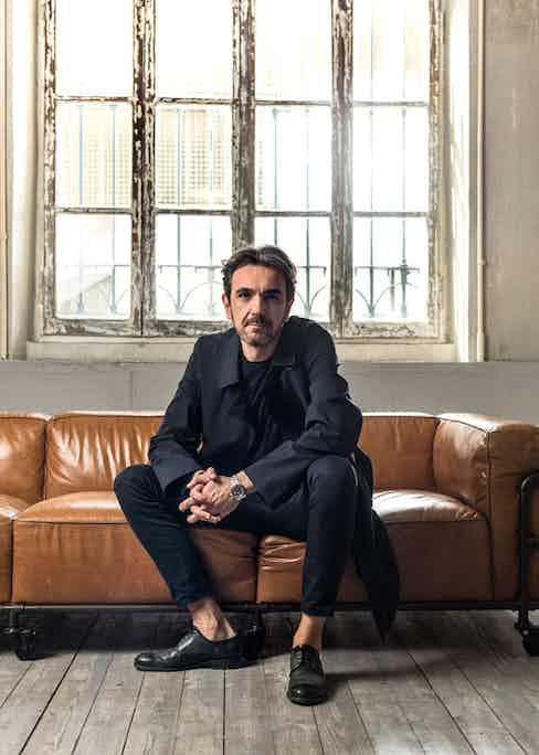 Corneliani's Style Director, Stefano Gaudioso Tramonte.