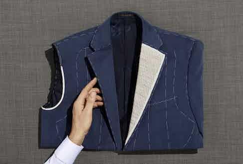 Corneliani employs 500 tailors, seamstresses and pattern makers.