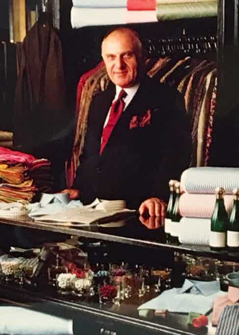 Denis Colban, who bought Charvet in the '60s.